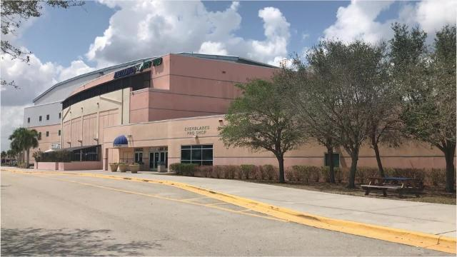 Located in Estero off Ben Hill Griffin Parkway is Germain Arena. Visitors can bring their own skates or rent a pair for a small cost.