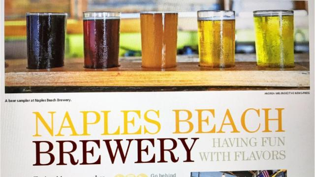 Naples Beach Brewery launched in 2012 as the first microbrewery in Southwest Florida.