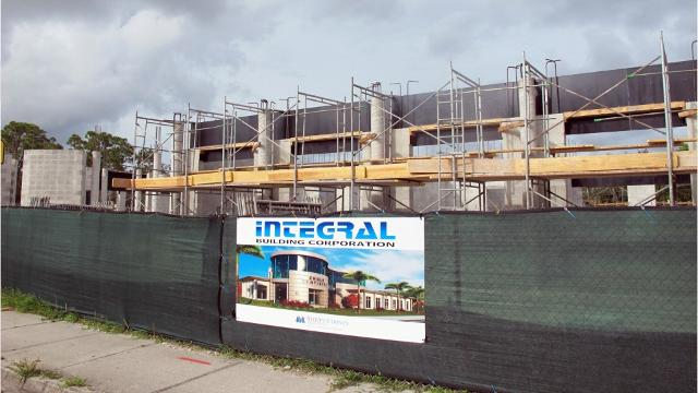 Engle Dentistry is under construction on former restaurant site at U.S. 41 and 14th Avenue North in Naples.