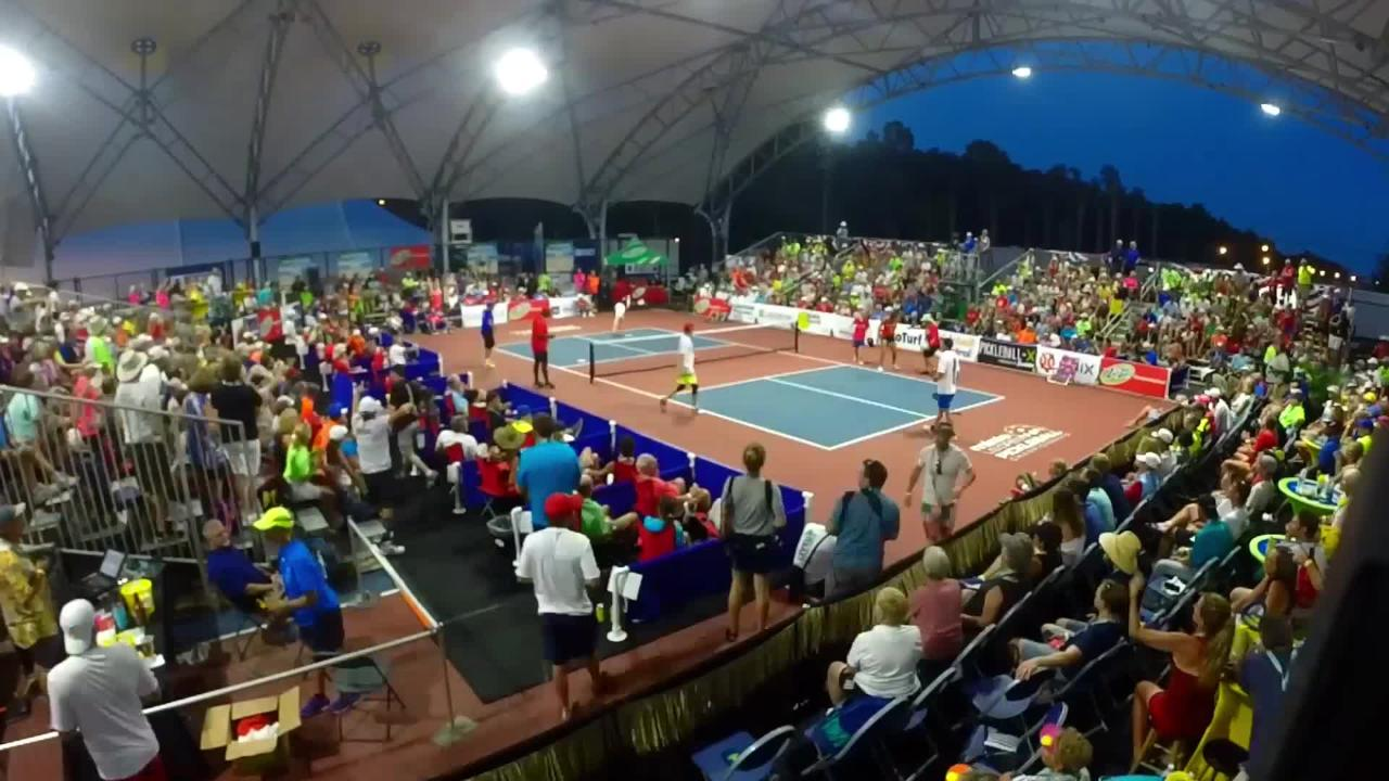 Collier County's Convention and Visitors Bureau is melding pickleball with the area's attractions in videos to attract Facebook users who have an interest in the sport.