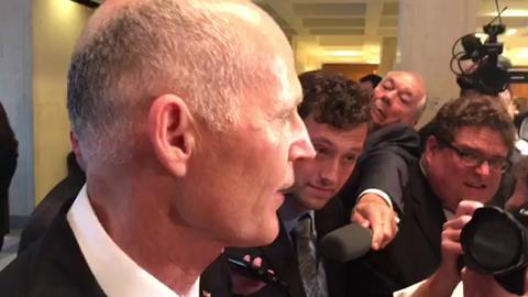 Gov. Rick Scott talks about special session