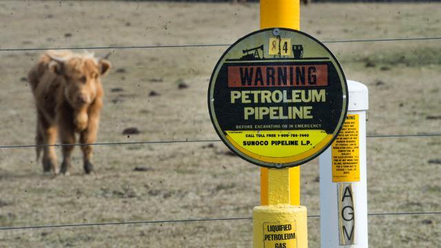 Watch: Sunoco pipeline crosses properties
