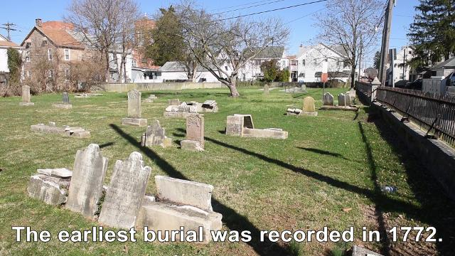 A 250-year old cemetery, with the earliest recored burial in 1772, has been maintained by Hanover Borough for decades. It's been so long that the borough doesn't remember why, or for whom, they are doing this for.