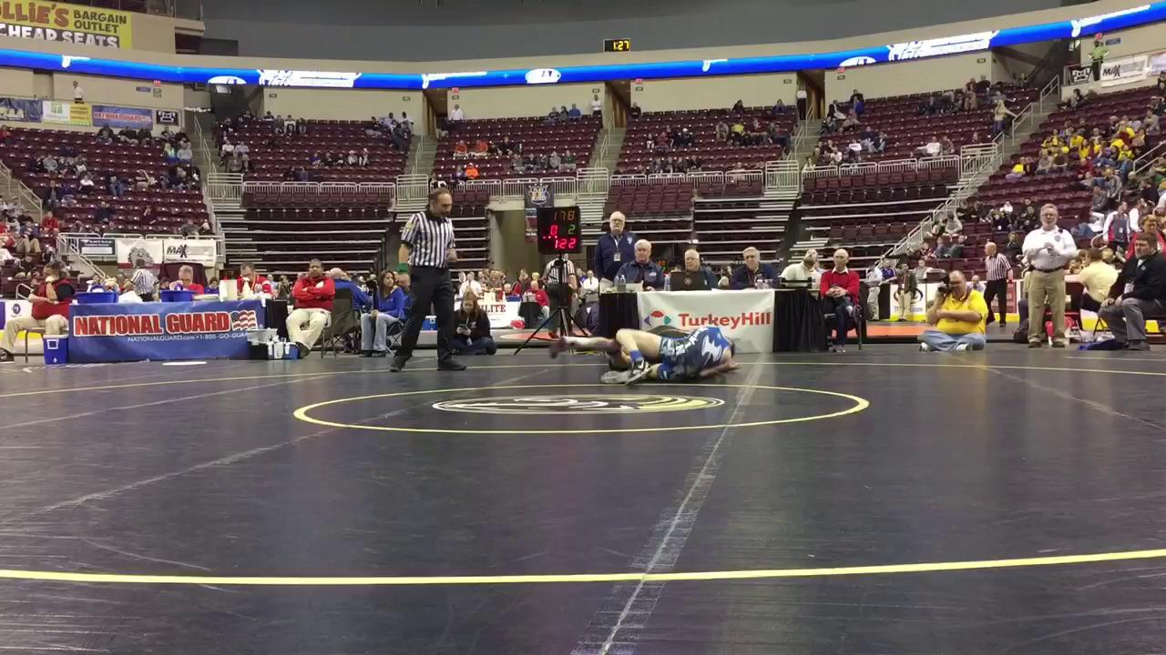 See the top 5 moments from Northern Lebanon's day one at the PIAA Class 2A Individual Wrestling Tournament.