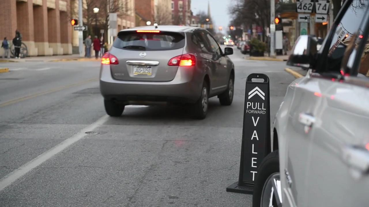 Watch: Valet service comes to York City