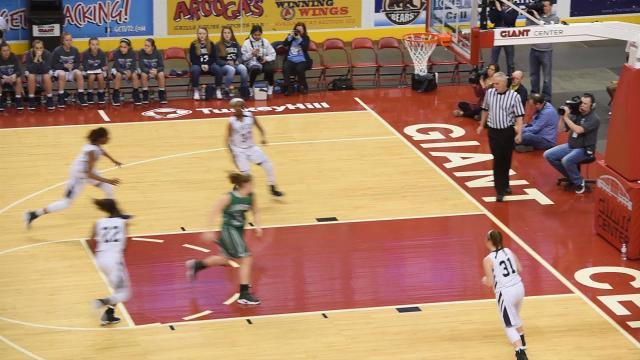 Lebanon Catholic High School  defeated Juniata Valley, 55-43, to capture the Girls PIAA 1A state championship title.