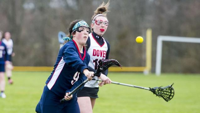 Check out highlights from New Oxford's 10-7 road win over Dover on Thursday. The Colonials got goals from seven players, with Lexie Leete, Bri Smith and Raleigh Bateman scoring twice.