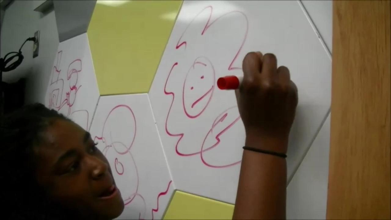 Watch: Spring athletes play Mascot Pictionary