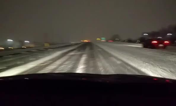 Watch: On York County roads in the snow storm with Ted and Paul