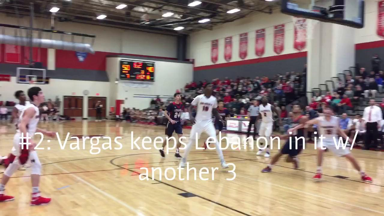 See the top five plays from the Colonials' 80-64 win over the Cedars in the PIAA Class 6A First Round.