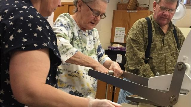 Meals on Wheels serves more than 200 elderly and shut-in clients in the Greater Chambersburg area, without government help.