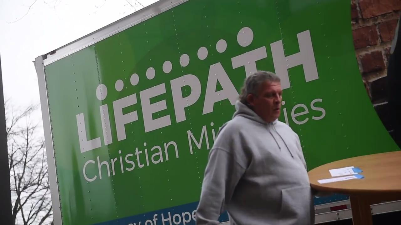 Richard Noll has entered Lifepath Christian Minitries' six month program to help get him sober and get his life on track.
