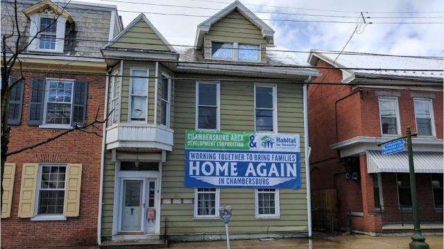 Franklin County's Habitat for Humanity began renovating and restoring a home on South Second Street - a joint effort with the Chambersburg Area Development Corporation to renovate and restore blighted properties while providing needy families with quality, permanent homes.