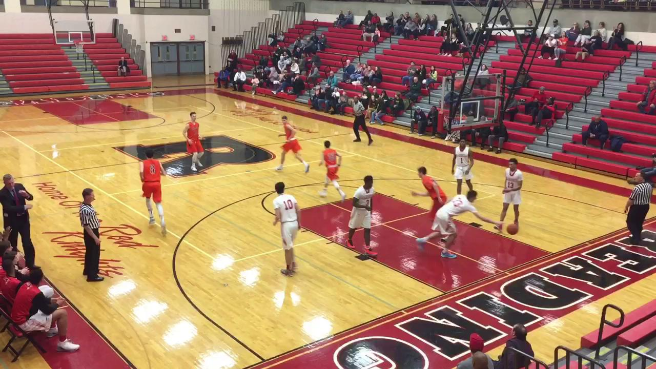 See the top five plays as the Cougars dropped a 78-41 game to the Patriots in the PIAA Class 5A Second Round.