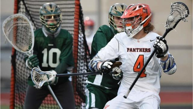 Central York's TJ Ross fights through the York Catholic's