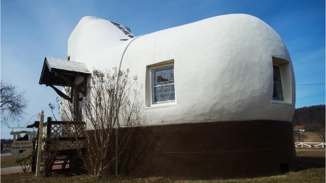 The Shoe House is a York County roadside landmark.