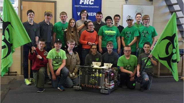 The Franklin County 4-H Robotics Club is competing in the 2017 FIRST Robotic Challenge in Pittsburgh March 16-18.
