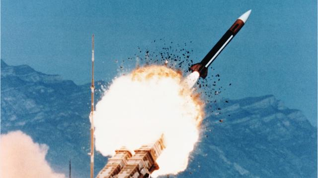The Patriot, an anti-missile missile, has been called upon to intercept many threats, including a drone.
