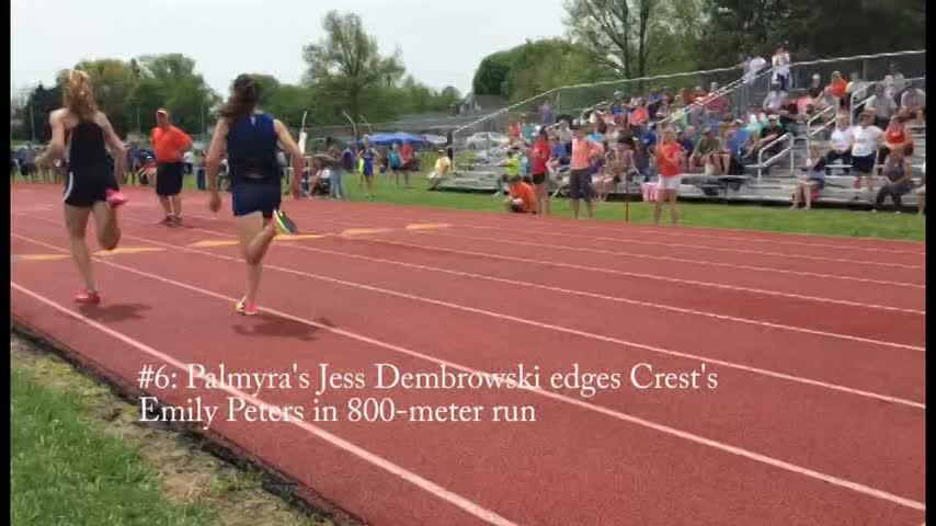 See the top 10 moments from the 2017 Lebanon County Track Meet held Saturday at Lebanon High School.