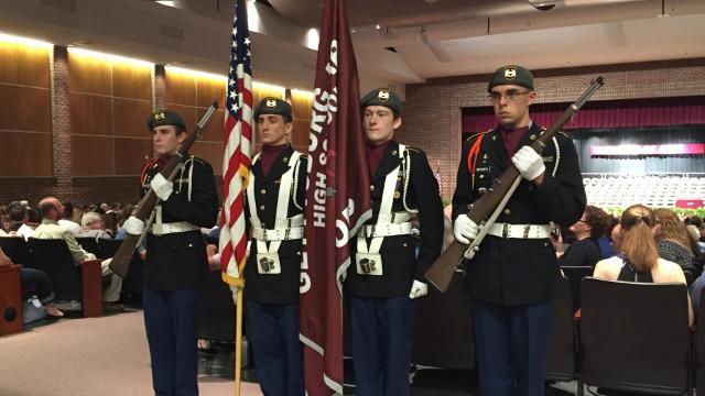 Gettysburg Area High School graduates 203 seniors on May 31, 2017.