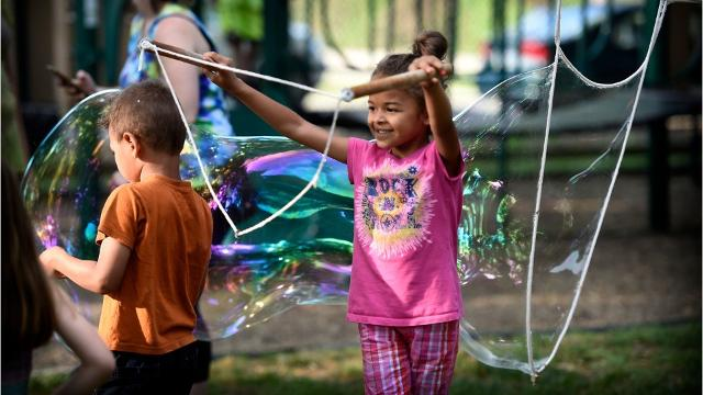 A quick look back at Spinstock 2017, the annual festival held at the South Sixth Street Playground in Lebanon celebrates the Flow Arts.