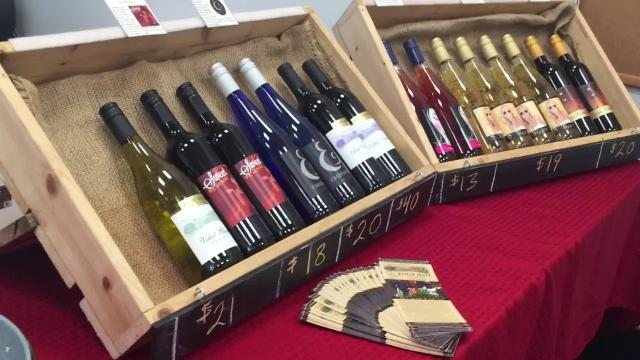 Local businesses in Hanover team up with wineries and breweries to promote local business downtown at the 2017 Sip and Stroll.
