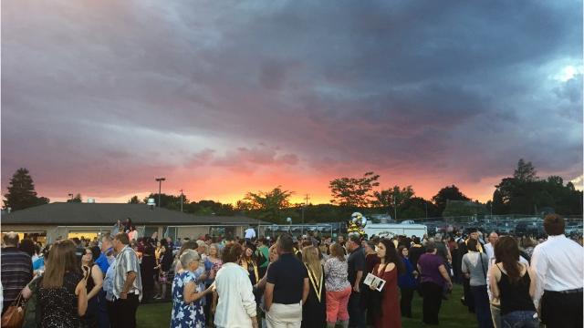 Biglerville High School students gift golden stoles