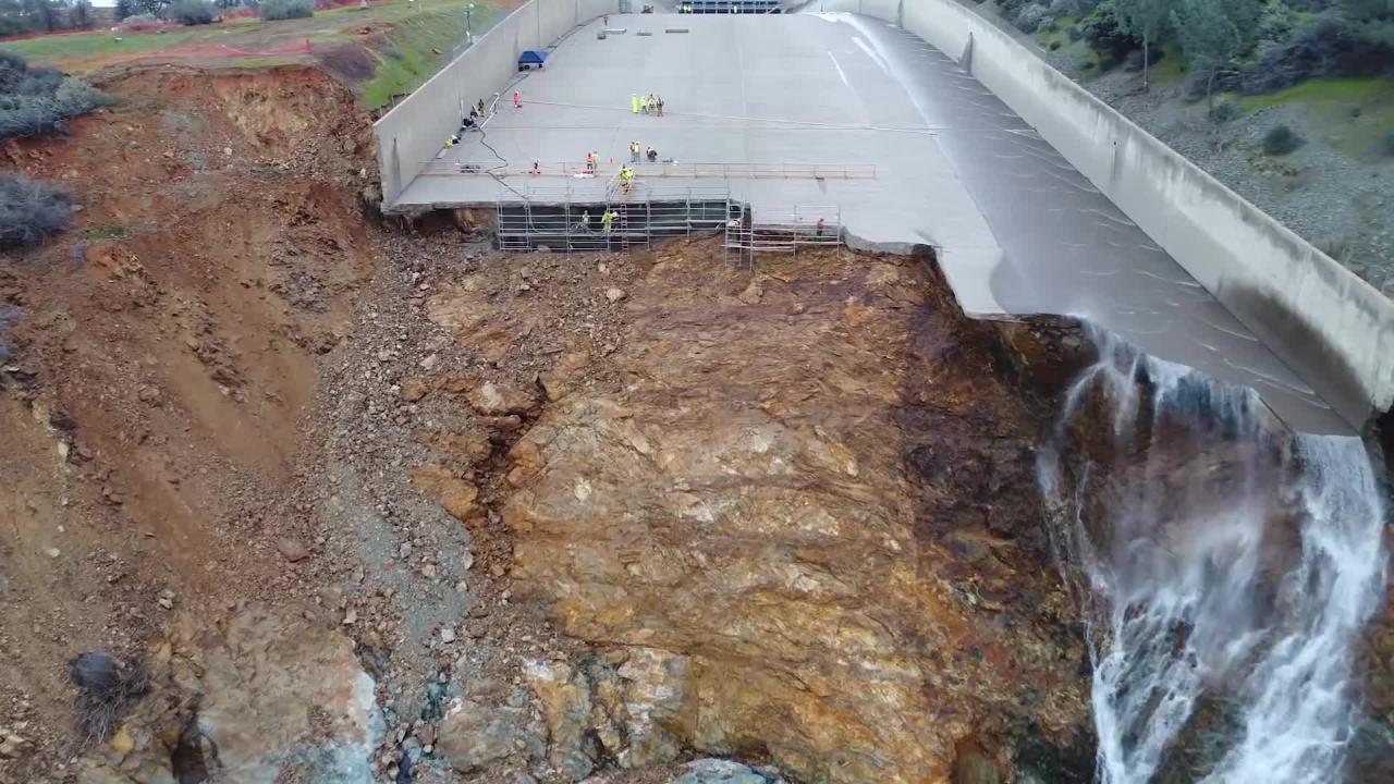 Oroville Spillway repair update