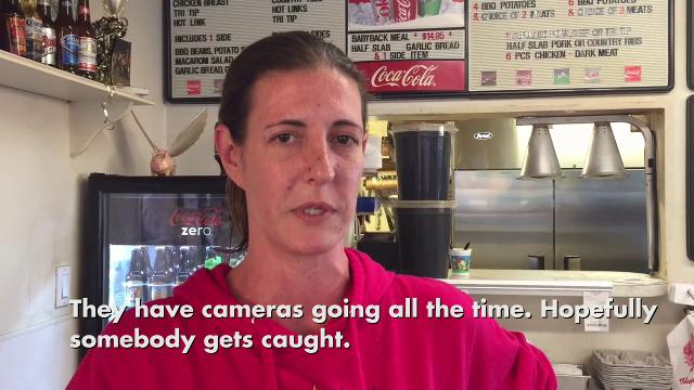 restaurant owner reacts to robbery at metro pcs