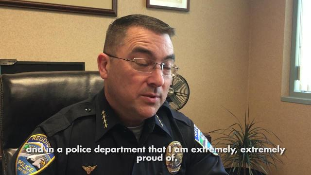 Redding Police Chief Rob Paoletti said he responded to a recruitment flier for a Bay Area police chief job because he's unsure what will come with a new city manager.