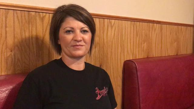 Co-owner Lisa White talks about the difficult decision to close the downtown pizza parlor.