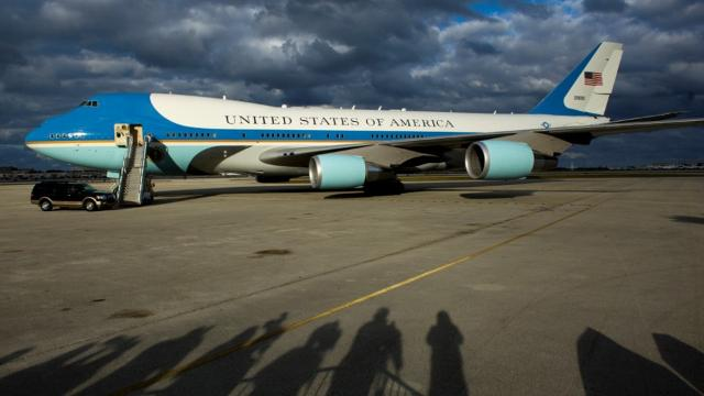 President Donald Trump's weekend trips to his Mar-a-Lago resort mean more air traffic at the county airport and, in turn, more money for Witham Field. LIDIA DINKOVA/TREASURE COAST NEWSPAPERS