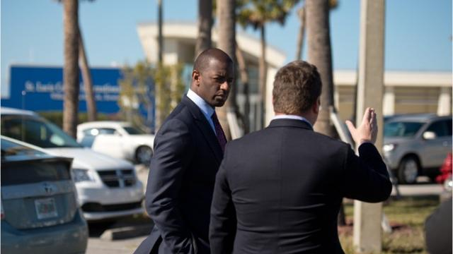 Tallahassee Mayor Andrew Gillum, who was the first candidate to announce a run for Florida governor, was given a tour of the Treasure Coast International Airport by Airport Manager John Wiatrak on Thursday, March 16, 2017, in St. Lucie County. St. Lucie County Commissioner Linda Bartz also attended.