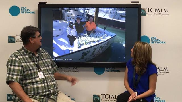 "Ed Killer describes the thrill of fishing ""firsts"" with a special guest, Samantha Warner from the TCPalm sales department."