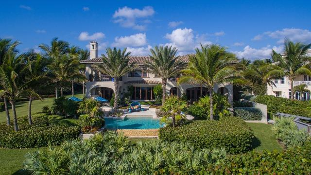The oceanfront mansion at 10 Ocean Lane in Indian River Shores will be auctioned off to the highest bidder on March 23, 2017. Take a look inside. LAKARA LYCAN/TCPALM.COM