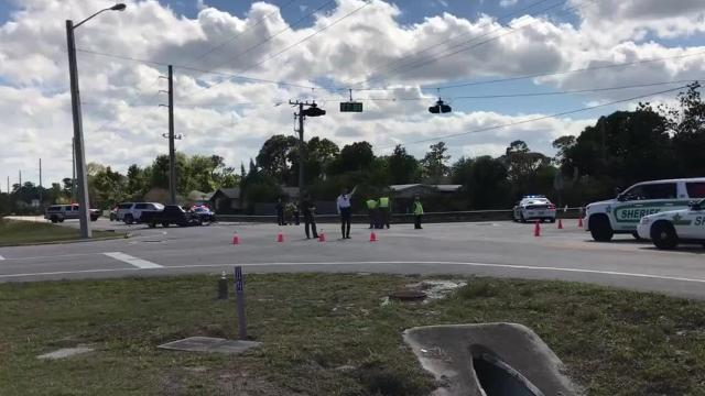 A man with life-threatening injuries has been taken by helicopter to a trauma center after a vehicle crash at 77th Street and 58th Avenue near the county fairgrounds. ERIC HASERT/TCPALM.COM