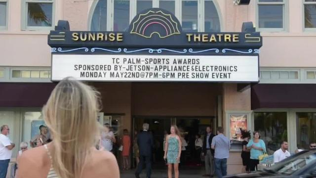 The TCPalm Sports Awards were held for the second year in a row Monday, May 22, 2017, at the Sunrise Theatre in Fort Pierce. (Xavier Mascareñas/TCPalm.com)