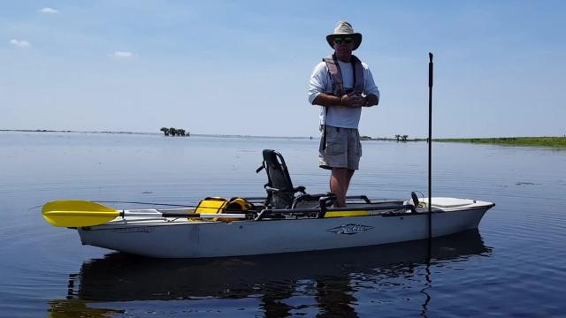 Video: The Hobie Mirage Pro Angler kayaks with Malcom Allen