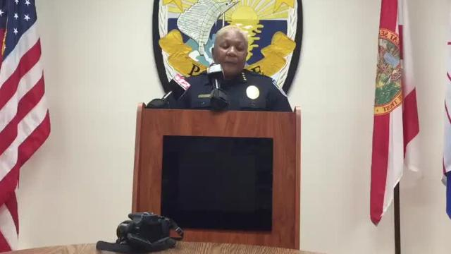 Fort Pierce Police Chief Diane Hobley-Burney answers what message firing the two officers sends to the Police Department and the community.