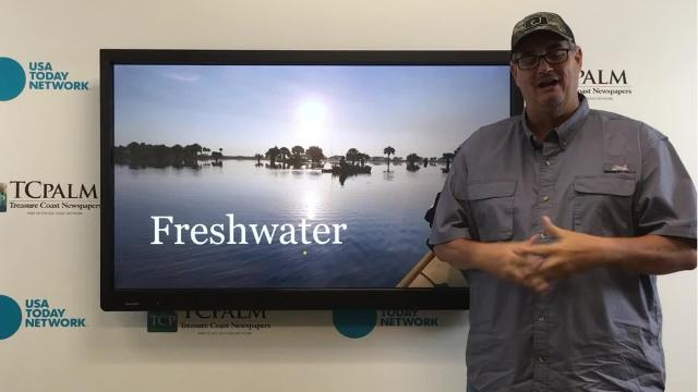 Outdoors reporter Ed Killer talks about how the water levels in Lake Okeechobee have changed in the past week.