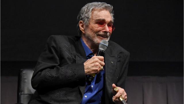 "Actor Burt Reynolds talks with film critic, Jeffrey Lyons, Friday, June 09, 2017, about his career in cinema and his newest film, ""Dog Years,"" before being presented with the Life Worth Living Legend Award during the Vero Beach Wine and Film Festival in Vero Beach."