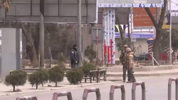 Gunmen wearing white lab coats stormed a military hospital in Afghanistan's capital on Wednesday, killing at least 30 people and wounding dozens in an attack claimed by the Islamic State group. (March 8)