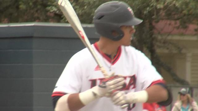 UTSA infielder and Moody grad Chris Estrada has become one of the top players for the Roadrunners this season after a stellar two-year junior college career at Angelina College.
