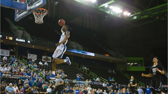 Texas A&M-Corpus Christi beat Weber State 82-73 on Monday to advance to the CollegeInsider.com Tournament quarterfinals for the first time.
