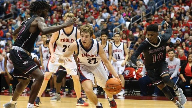 The Eagles make history with state semifinal appearance but fall to Mansfield Timberview 68-48 on Thursday.