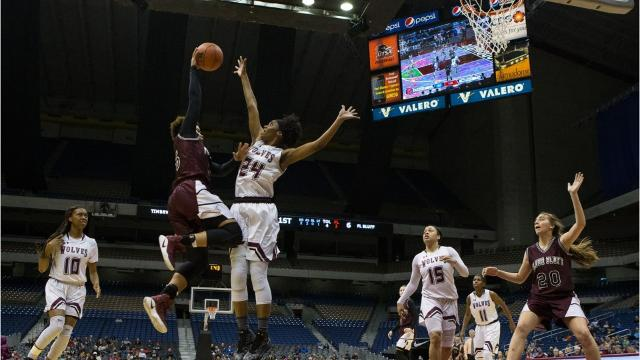 Turnovers proved costly for Flour Bluff in it 66-41 loss to Mansfield Timberview in a Class 5A state semifinal.