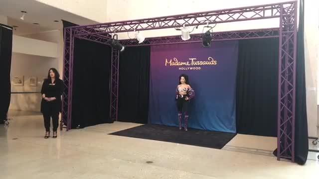 Facebook Live: Private unveiling of Madame Tussauds Selena Wax Figure