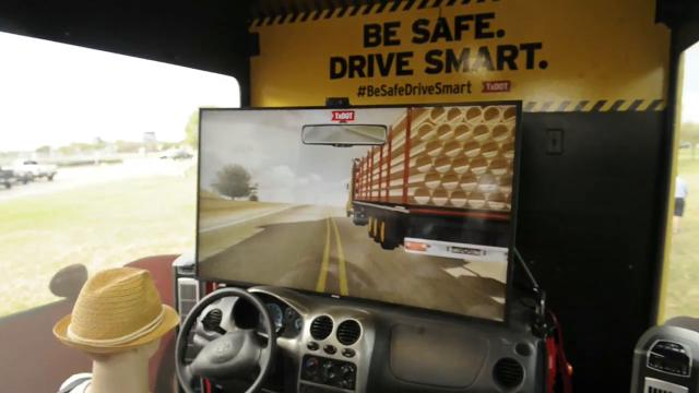 TxDOT uses interactive game to show how dangerous driving behaviors can turn deadly.