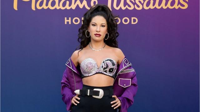 Selena Wax Figure at Fiesta de La Flor