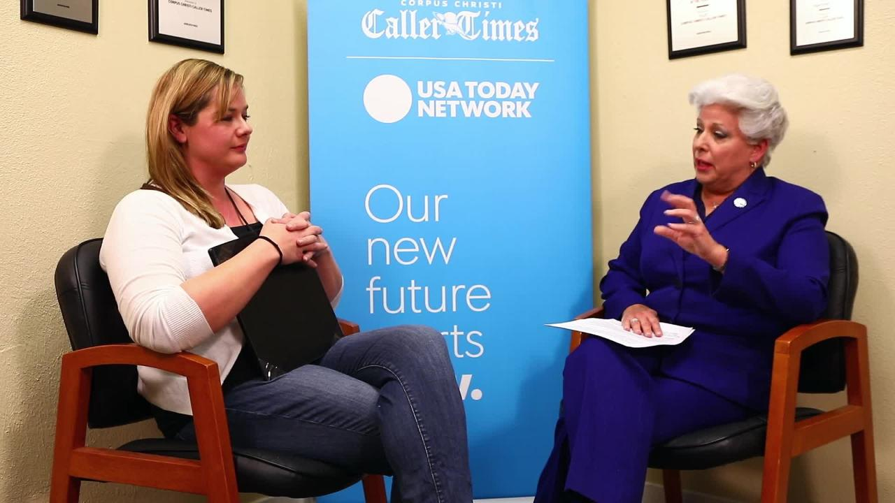 Q&A with mayoral candidate Nelda Martinez